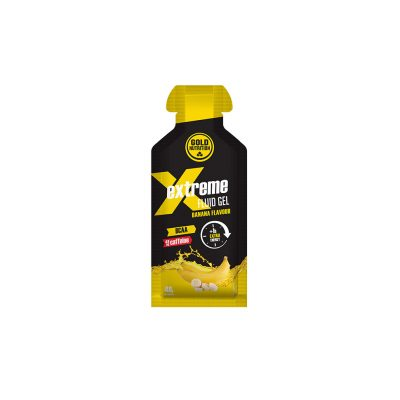 Extreme Fluid Gel Energético with BCAA and Caffeine - Banana Flavor