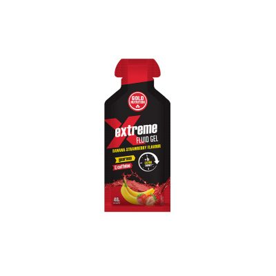 Extreme Fluid Gel with Guaraná Strawberry-Banana Flavor
