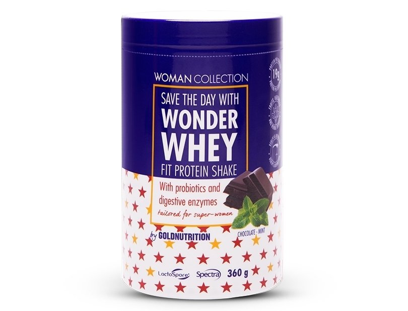 Wonder Whey Mint Chocolate Flavor - Woman Collection