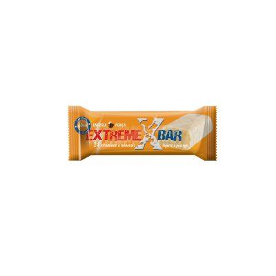 Barra Energética com Cafeína Extreme Bar com sabor a Iogurte e Pêssego