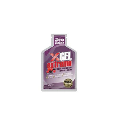 Extreme Energy Gel with Guarana and Caffeine - Wild Berries Flavor