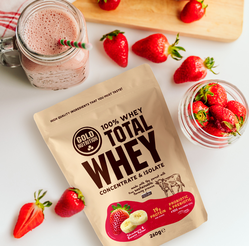 Total Whey GoldNutrition 260g