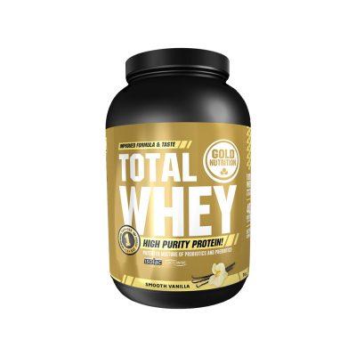 Protein Total Whey Supplement - Vanilla Flav
