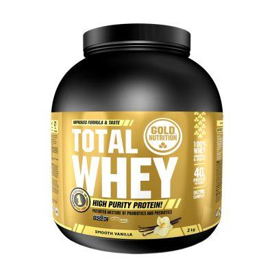 Total Whey 2kg Vanilla Flavor