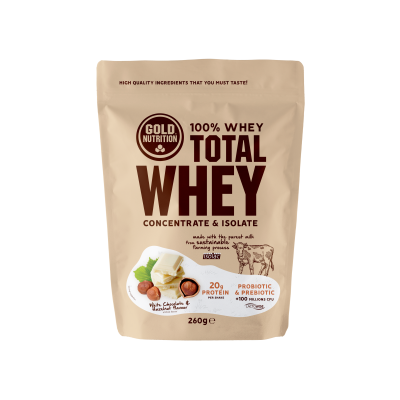 Total Whey White Choc Hazelnut