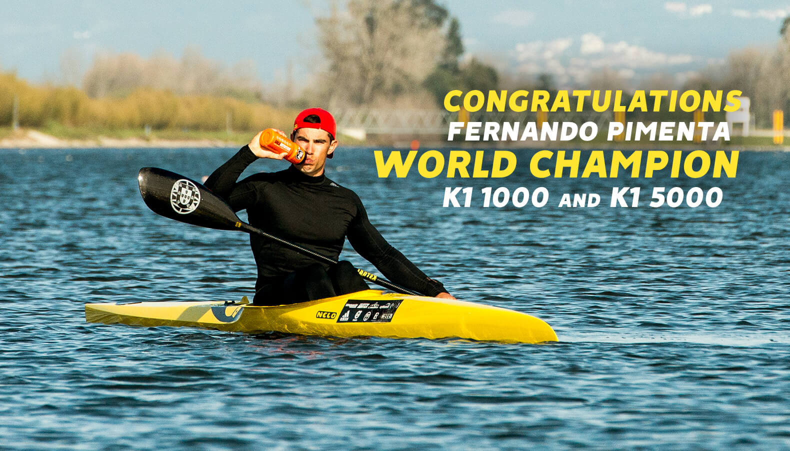 Fernando Pimenta World Champion Canoing