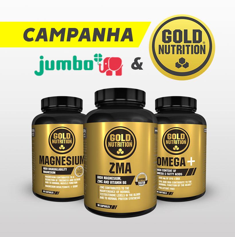 Campanha Jumbo e GoldNutrition