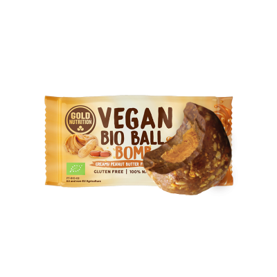 Vegan Bio Ball Peanut Butter Bomb